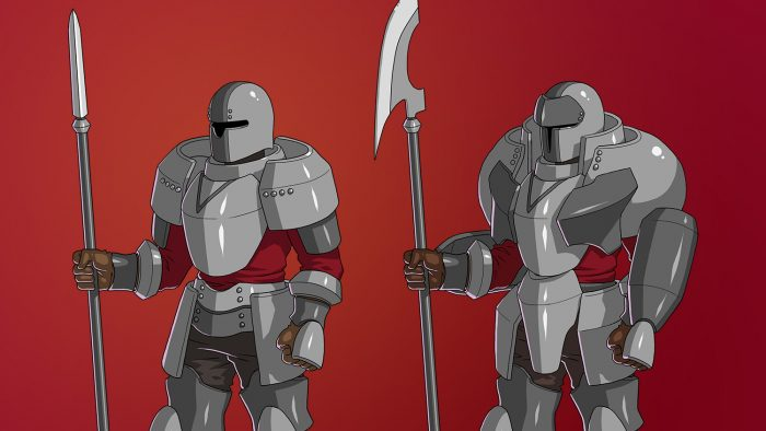 RPG Spearman and Guard Class