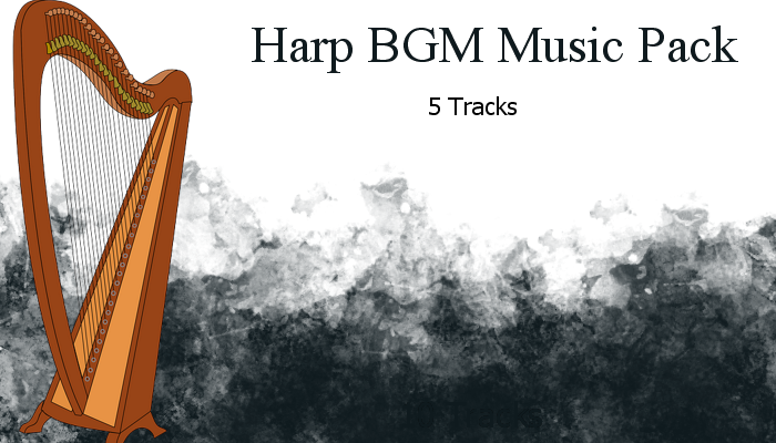 Harp Music BGM Pack