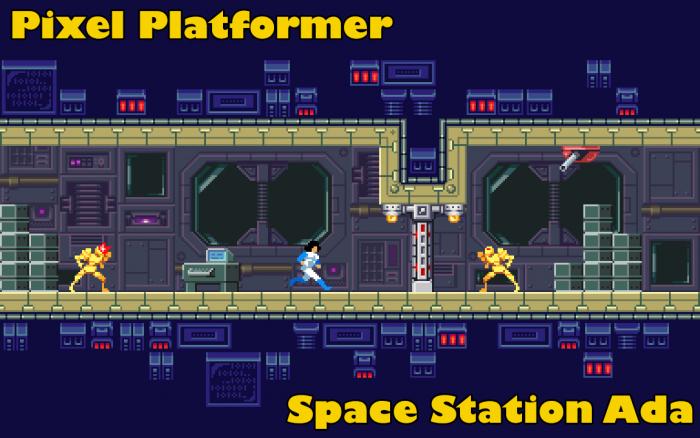Space Station Ada – Platformer Tileset