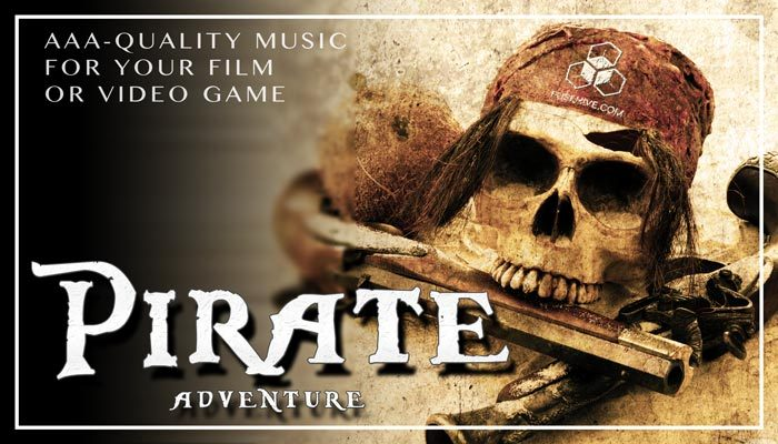 Epic Pirate Adventure Music Pack – Medieval Pirate Crew AAA Royalty Free Themes Background Loops Stingers
