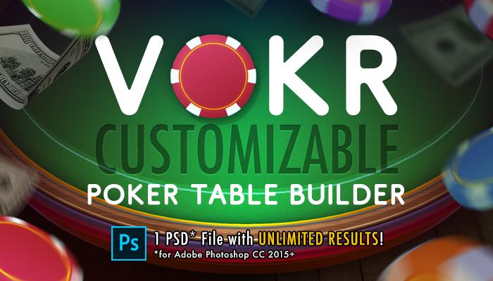 VOKR – Poker Table Builder