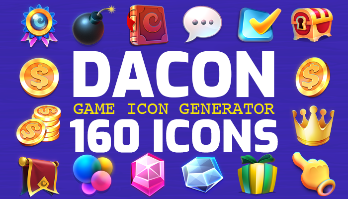 DACON – Game Icon Generator