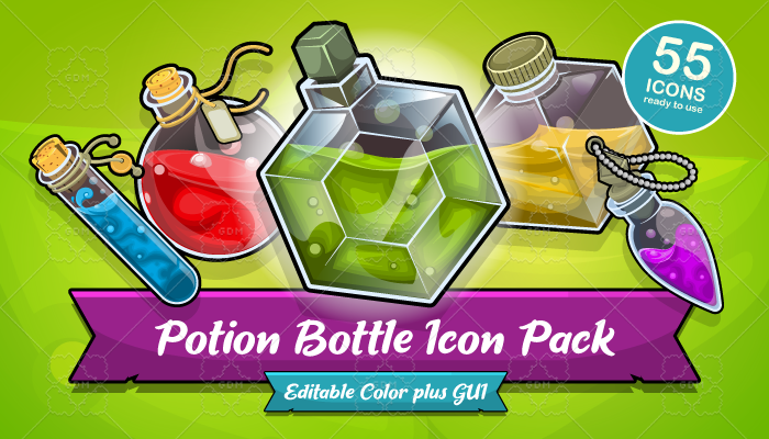 POTION BOTTLE ICON PACK