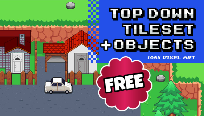 Free Background – Tileset + Objects