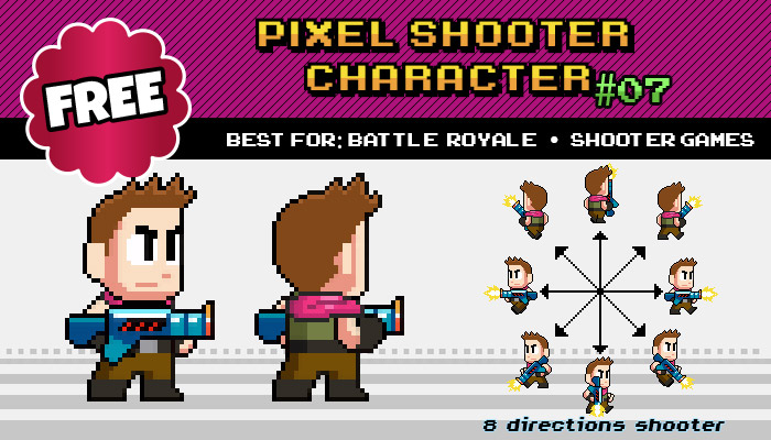 Shooter / Battle Royale – Free Character