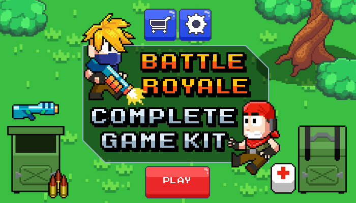 Shooter / Battle Royale – Complete Game Kit