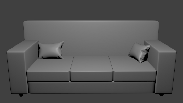 Couch/Sofa & Pillows