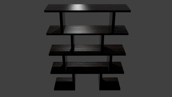 Japanese Inspired Shelf