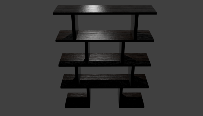 Japanese Inspired Shelf