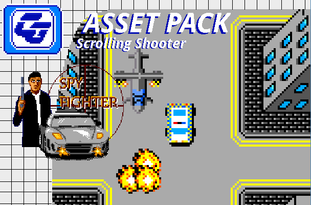 Asset Pack 'Spy Fighter' SMS