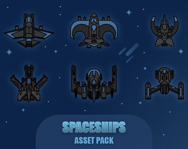 Spaceships Asset Pack
