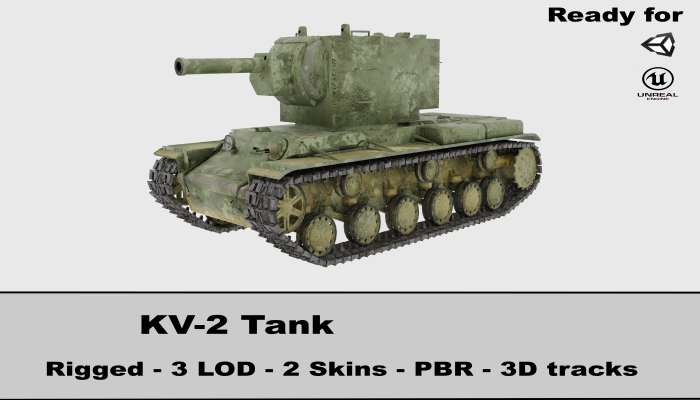 KV 2 Soviet Heavy Tank