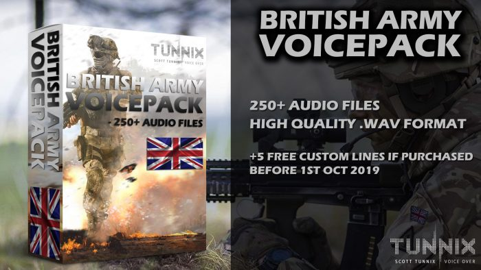 British Army Voice Pack
