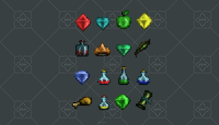 Оbjects for games platformer