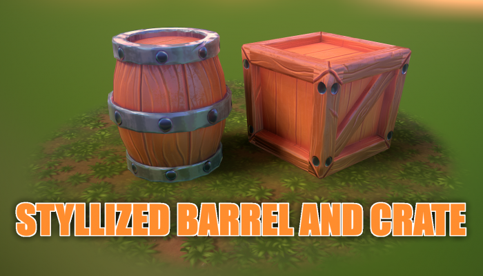 Barrel and Crate