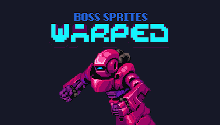Warped Mecha Boss Sprite