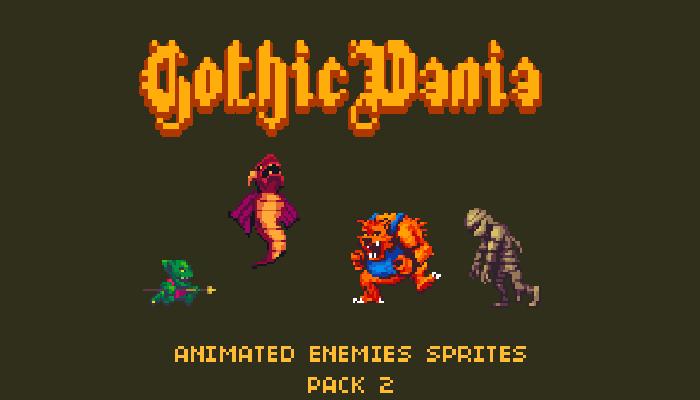Gothicvania Enemies Pack 2