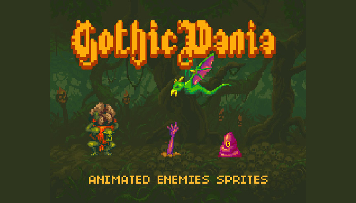 Gothicvania Enemies Pack 1