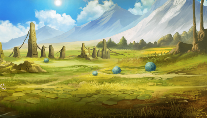 ARCADE STYLE – SCROLLING BACKGROUND – SACRED PLAINS