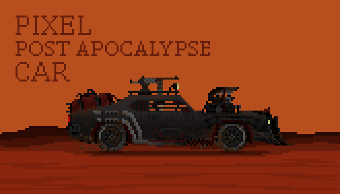 Post apocalypse car