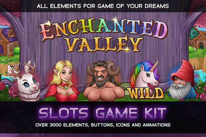 Enchanted Valley Slots game KIT