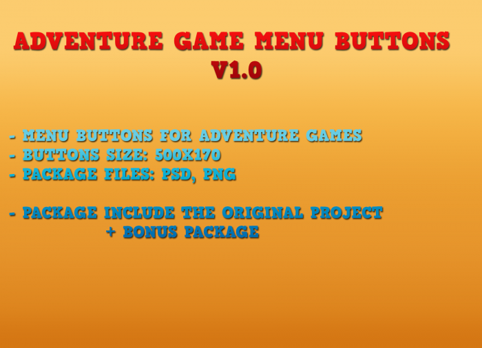 Game Buttons V1.0