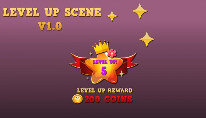 Level UP Scene