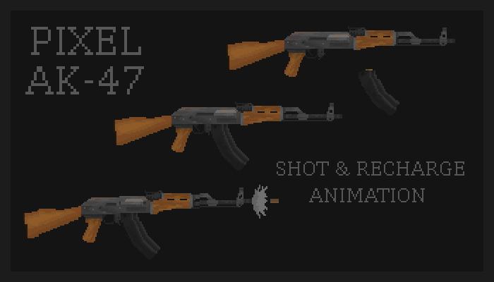 Pixel AK-47