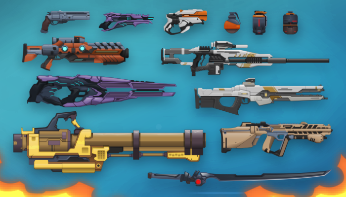 Vector Art Sci-Fi Arsenal