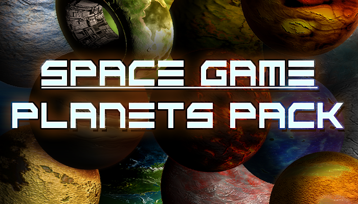Space Game – Planets Pack