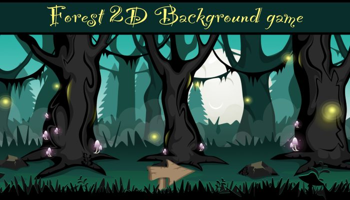 Forest Game Background 3