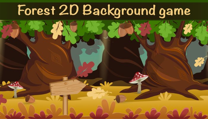 Forest Game Background 4