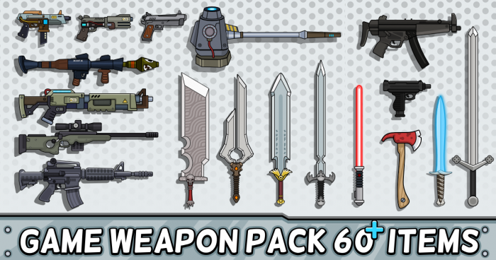 Weapon RPG Game Pack