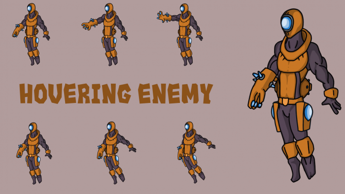 Hovering Blaster Enemy