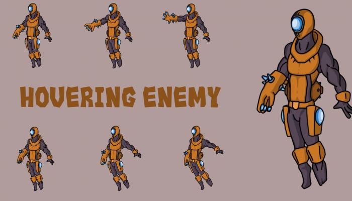Hovering Blaster Enemy