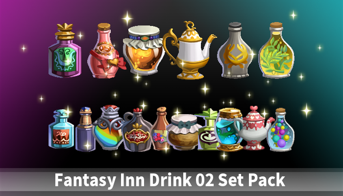 Fantasy inn drink 02 Pack