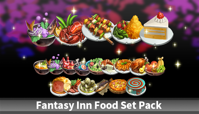Fantasy Inn Food Set Pack