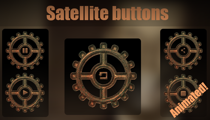 Satellites buttons