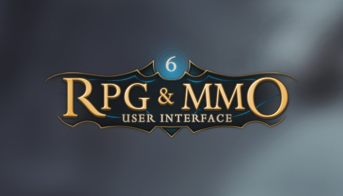 RPG and MMO UI 6