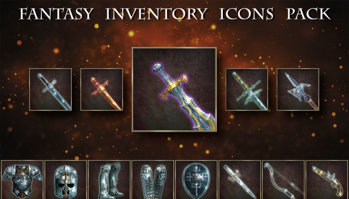 Fantasy Inventory Icons Pack