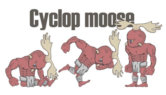 Cyclop moose