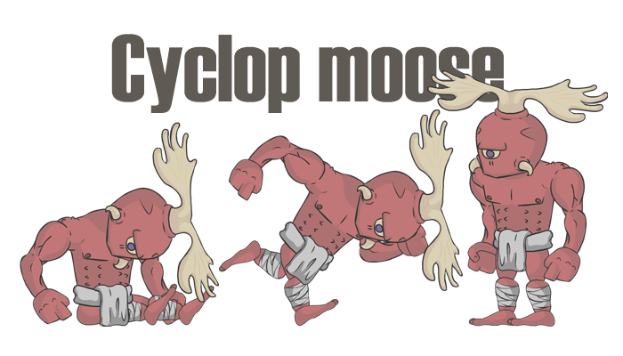 Cyclop moose