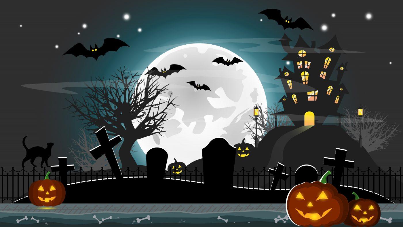 Halloween Background Parallax Game 2 Gamedev Market