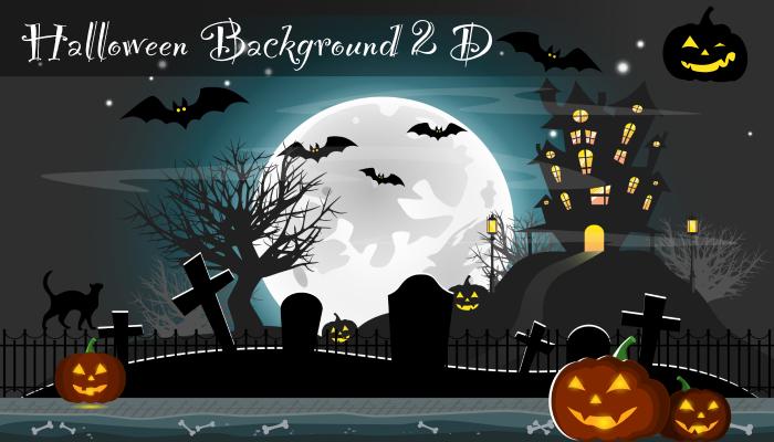 Halloween Background Game 2