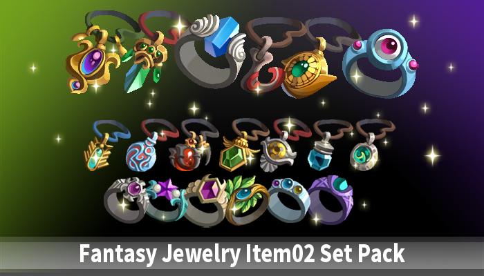 Fantasy Jewelry Item02 Set Pack