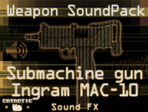 Weapon Sound Pack – SMG: Ingram MAC-10