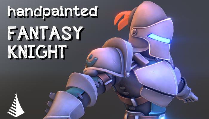 Handpainted fantasy knight