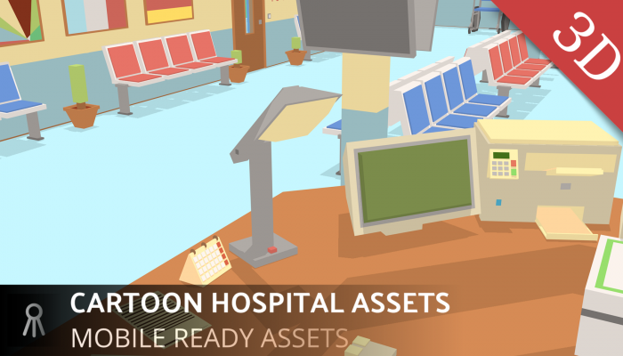 CARTOON HOSPITAL ASSETS