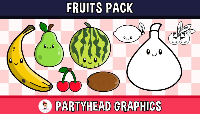 Fruit Pack (Assets For Children´s Games)