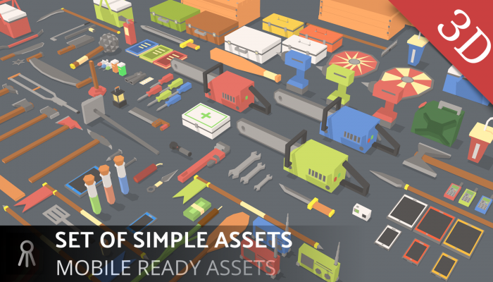 SET OF SIMPLE ASSETS